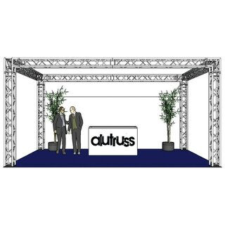 ALUTRUSS Traversenset QUADLOCK 6082 Rechteck 7x4x3,5m (BxTxH)