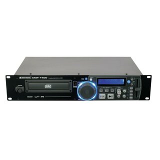 OMNITRONIC XMP-1400 CD-/MP3-Player