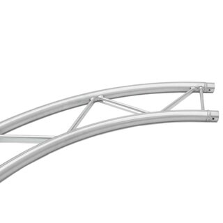 ALUTRUSS BILOCK Element f.Kreis 3m innen horiz.90°