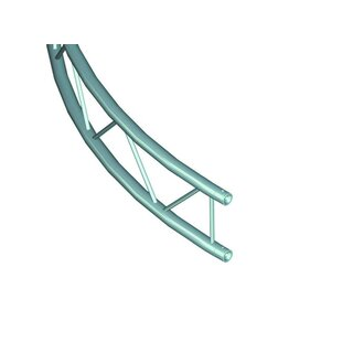 ALUTRUSS BILOCK Element f.Kreis 5m innen vert.45°