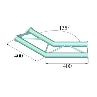 ALUTRUSS BISYSTEM PH-23 2-Weg 135° horizontal