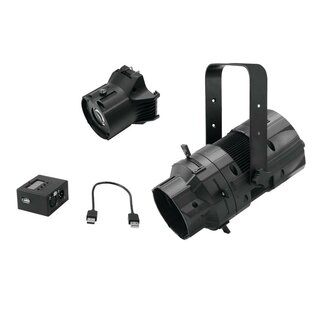 EUROLITE Set LED PFE-50 + Linsentubus 26° + DMX-Interface